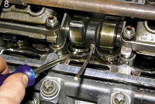 фольксваген транспортер регулировка клапанов